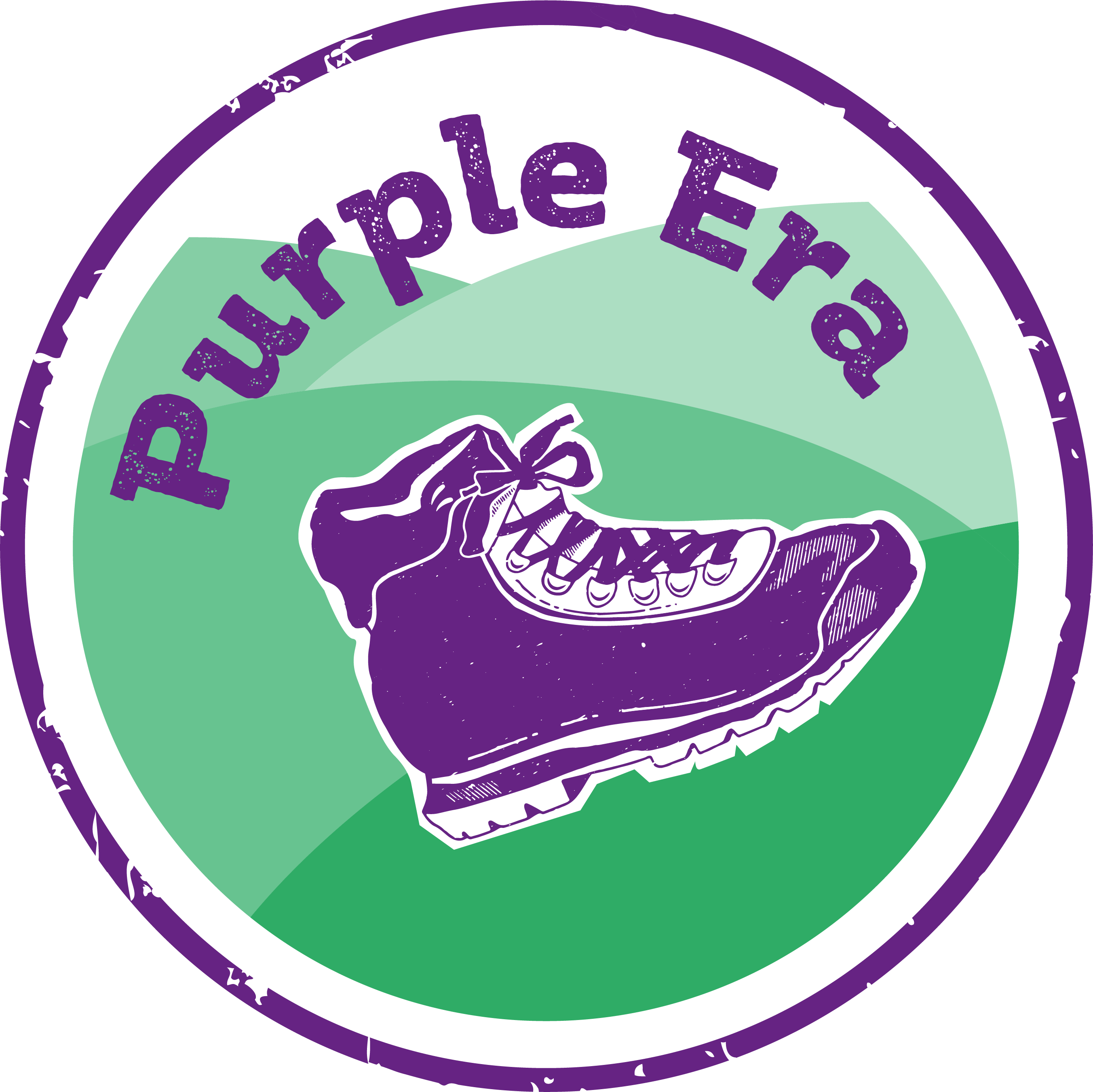 Step into your purple